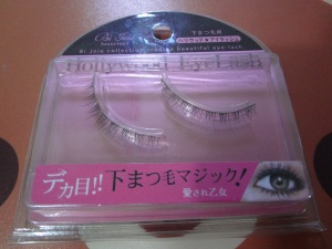 bottom fake eyelashes