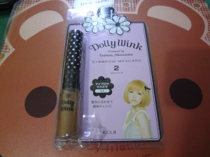 Dolly Wink Eyebrow Mascara 2 Mocca