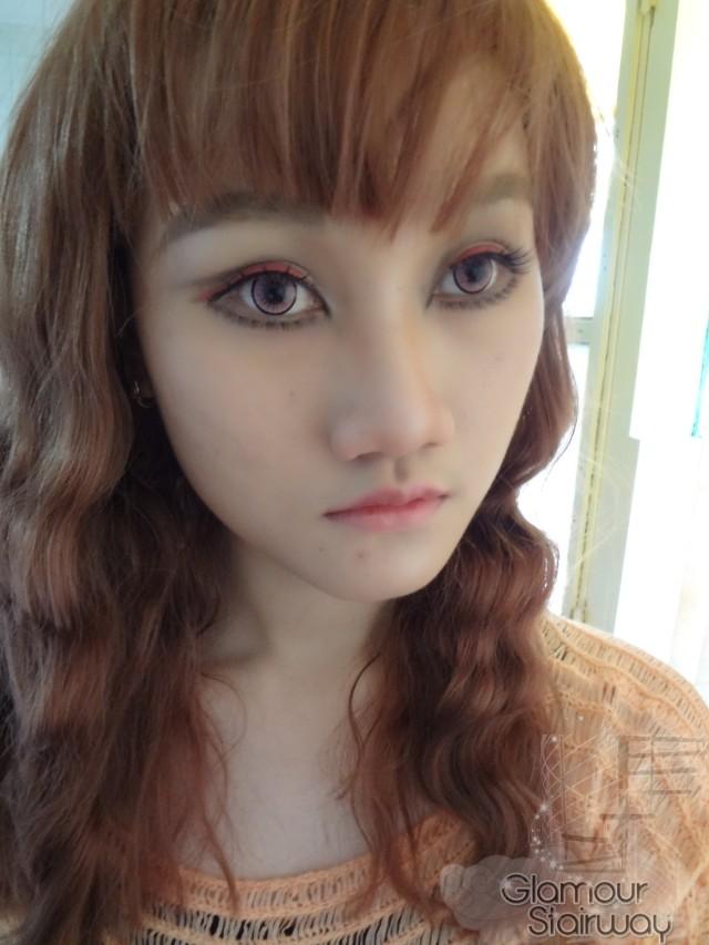 Keiko Gyaru makeup Inspired