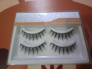 top fake eyelashes - missha (professional)