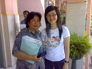 Visited my biology teacher (when I was college student)