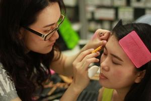 makeup process 5 - keikoxoxo
