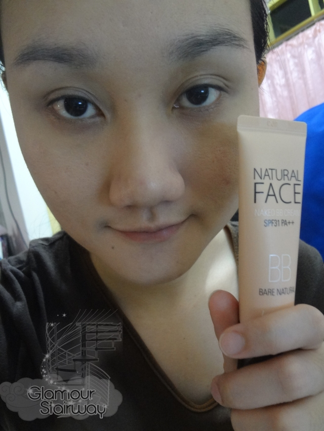 Banila Co Natural BB Cream after application - keikoxoxo