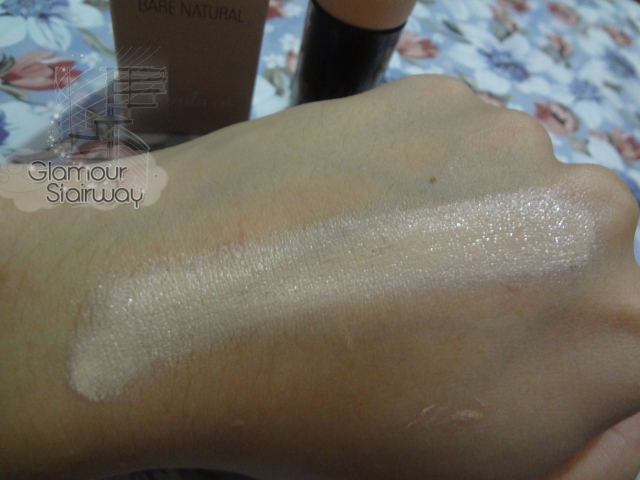 Banila Co Natural BB Cream swatch - keikoxoxo