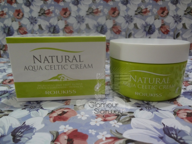 Rojukiss Natural Aqua Celtic Cream - keikoxoxo