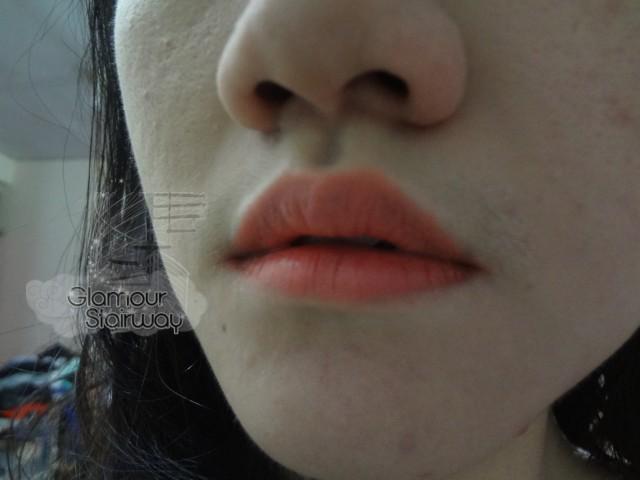 holika holika heartfull silky lipstick swatch - keikoxoxo