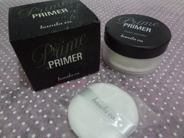 Banila co Prime Primer Finish Powder - keikoxoxo