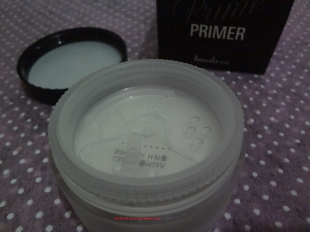Banila co Prime Primer Finish Powder unpackage - keikoxoxo