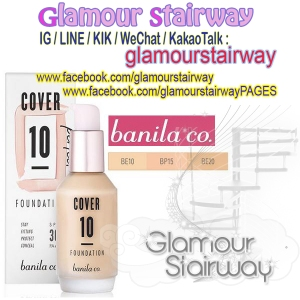 [BANILACO] Cover 10 perfect Foundation IDR460rb