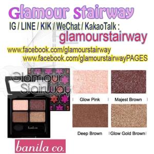 [BANILACO] Quad Eye palette Shadow (LUMIERE) IDR390rb