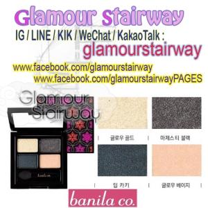 [BANILACO] Quad Eye palette Shadow (S-NIGHT) IDR390rb